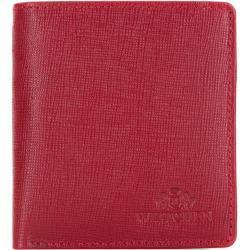 Wittchen Brieftasche Rot Saffiano Echtleder