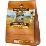 WOLFSBLUT Wide Plain Small Breed Pferdefleisch und Süßkartoffel 2kg Hundetroc...