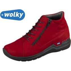 Wolky Why 0660611-505 dark red Antique Nubuck