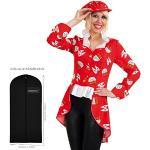 WOOOOZY Damen-Kostüm Köln Frack, Gr. 36 - inklusive praktischem Kleidersack