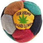 World Footbag Sir Hanf Hacky Sack Footbag, schwarz/grün/grau/rot/Hellbraun/gelb
