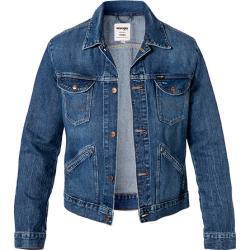 Blaue WRANGLER Jeansjacken für Herren Größe 3 XL