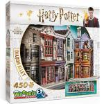 Wrebbit 3D Puzzle 450 Teile Harry Potter Winkelgasse