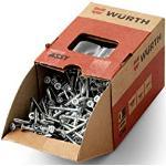 Würth 17015070 ASSY 3.0 acciaio zincato FP tps testa autosvasante AW, Grau