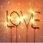 Wunderkerzen Schriftzug Love Wondercandle Antrag Hochzeit Muttertag Valentinstag