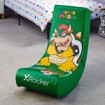 X Rocker Gaming-Stuhl »Nintendo Super Mario Floor Rocker Gaming Sessel für Kinder«, grün, Grün - Bowser