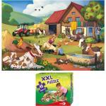 """XXL Puzzle, Bodenpuzzle, """"Urlaub auf dem Bauernhof"""", 45 Teile"""