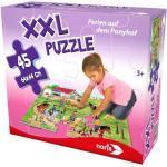 XXL Puzzle - Ferien auf dem Ponyhof 45-teilig