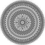 Xxxlutz Outdoorteppich Grau, Kunststoff