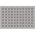XXXLutz OUTDOORTEPPICH In-/ Outdoor Mehrfarbig, Kunststoff, Mosaik, 118x180x0.2 cm