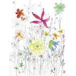 XXXLutz VLIESTAPETE, Mehrfarbig, Papier, Floral, 184x248xcm cm