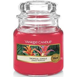 Yankee Candle Tropical Jungle Glaskerze, pink, 5,8 x 5,8 x 8,6 cm