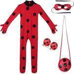 Langärmelige Miraculous – Geschichten von Ladybug und Cat Noir Rollkragen Faschingskostüme & Karnevalskostüme für Kinder
