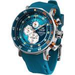 YM86-620A636-BLAU Herren-Uhr Multifunktion Lunokhod 2 Blau
