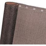 ZAUNBLENDE 85 % in 1,5m Breite (Meterware) Sichtblende Schattiernetz in braun
