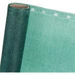 ZAUNBLENDE 85 % in 1,5m Breite (Meterware) Sichtblende Schattiernetz in grün
