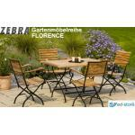 Zebra Florence Terrassenmöbel aus Teak