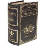 zeitzone Hohles Buch Geheimfach The Financier Buchversteck Antik-Stil17cm