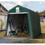 Zeltgarage 2,4x3,6 m, PE 260g/m², dunkelgrün Garagenzelt