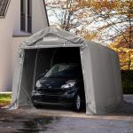 Graue Toolport Garagen UV-beständig