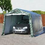 Zeltgarage 3,3x4,8 m, PE 260g/m², dunkelgrün Garagenzelt
