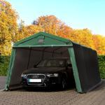 Zeltgarage 3,3x6,2m, PVC 500 dunkelgrün Garagenzelt