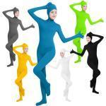Zentai-Anzüge Catsuit Hautenger Anzug Ninja Cosplay Erwachsene Lycra Cosplay Kostüme Geschlecht Damen Volltonfarbe / Gymnastikanzug / Einteiler Lightinthebox