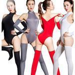 Zentai-Anzüge Catsuit Hautenger Anzug Ninja Erwachsene Cosplay Kostüme Ultra sexy Einheitliche Farbe Damen Halloween Valentinstag / Gymnastikanzug / Einteiler Lightinthebox