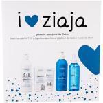 Ziaja GdanSkin Set Tagespflege SPF15 50 ml + Körperbalsam 300 ml + Glycerinseife 300 ml + Feuchtigkeitsspendender Nebel 200 ml für Frauen
