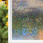 Reduzierte Bunte Fensterfolien B 200 cm, H 200 cm, L 200 cm