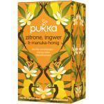 Zitrone, Ingwer & Manuka-Honig Tee, bio - 20 Teebeutel à 2 g (40 g) - Pukka Tee