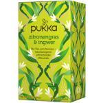 Zitronengras & Ingwer Tee, bio - 20 Teebeutel à 1,8 g (36 g) - Pukka Tee