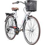 Zündapp Z700 700c Damenfahrrad Hollandrad Damenrad Fahrrad Stadtrad 28 Zoll... 46 cm, weiß/rot