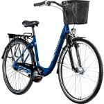 Zündapp Z700 700c Damenfahrrad Hollandrad Damenrad Fahrrad Stadtrad 28 Zoll... blau, 46 cm